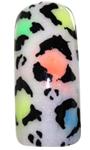 neon leopard - Step 5