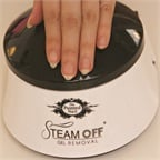 Removal Is Quick and Easy With the Steam Off