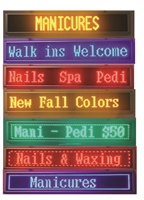 Inskrib LED Signs Can Scroll Multiple Messages