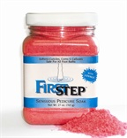 First Step Sensuous Pedicure Soak Cleanses and Softens