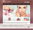 The Nail Superstore Offers Salon Website Template