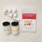 Empty It Polish Brushes Are Adjustable and Disposable