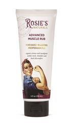 Soothe Aches and Pains With Rosie's Advanced Muscle Rub