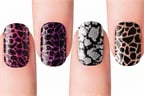 Dashing Diva Introduces Metallic Crackle Nails