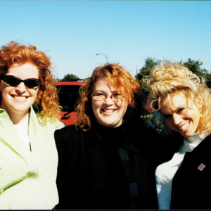 DiDi Merriman (right) of Peel's Salon Services brought Jan Oates' Nails or Not  Salon in Omaha,...