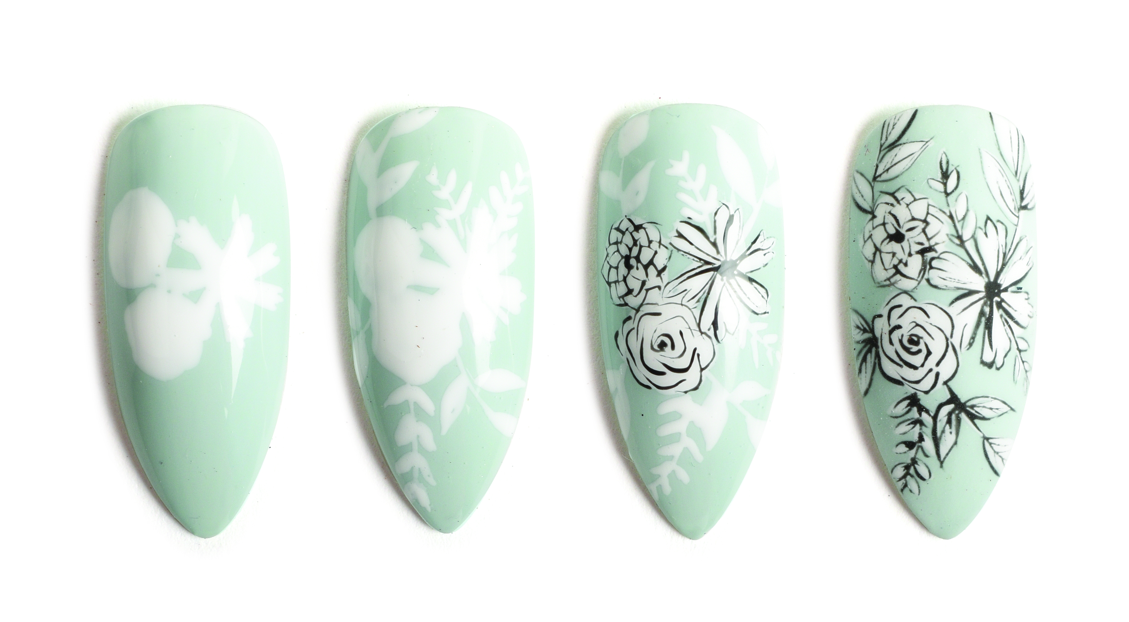 Nail Art Studio: Frosted Florals