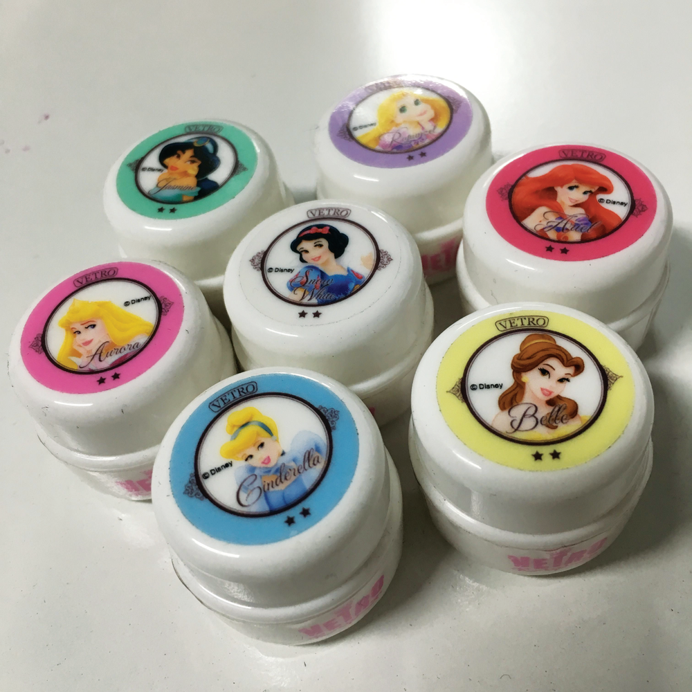 <p>Manufacturer Vetro&rsquo;s Disney Princess gel pods are indicative of the larger gel pod trend in Japan. Photo courtesy @HiJeanJean</p>