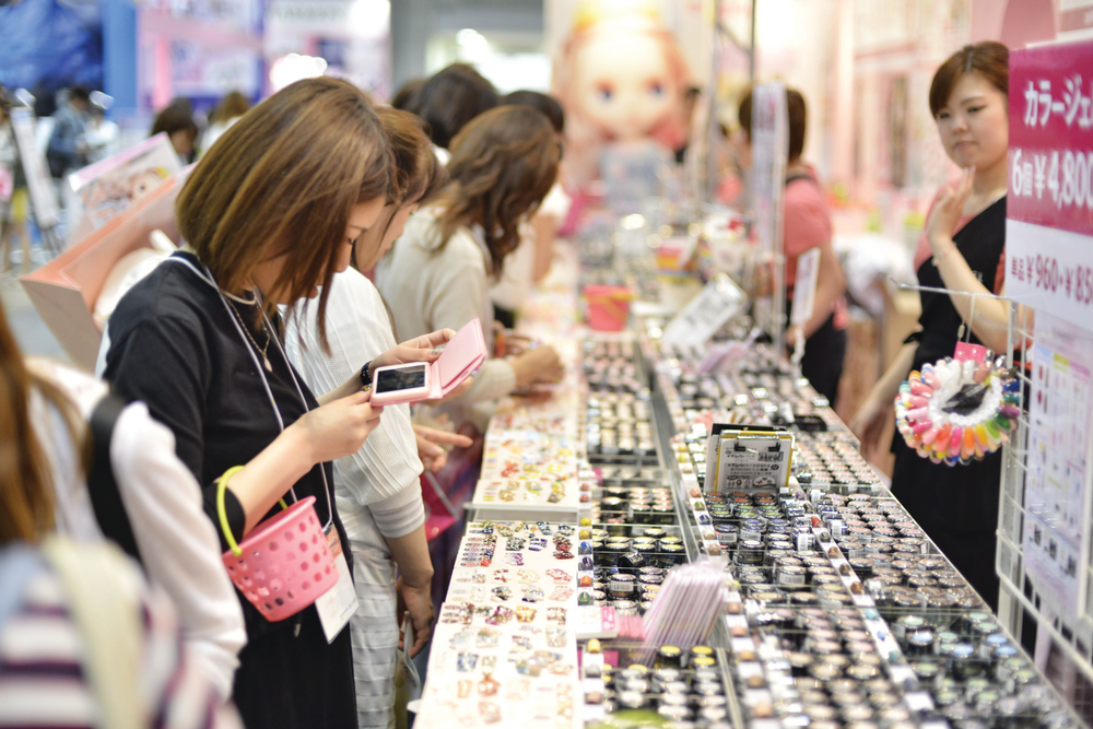 <p>Tokyo Nail Forum is the largest nail tradeshow in Japan.</p>