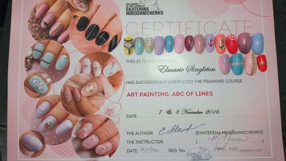 <p>The most popular class at E.MI School of Nail Design—Pretoria is ART Painting—ABCs of Lines.</p>