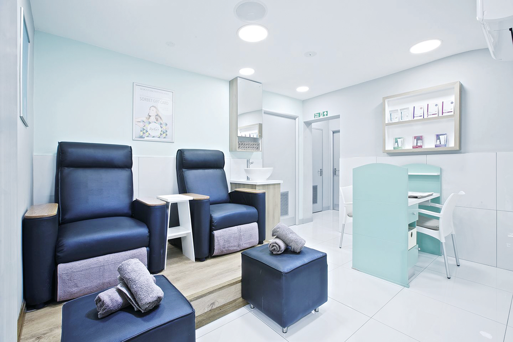 <p>Newly expanded to the United Kingdom, Sorbet focuses on making clients feel good about themselves, including giving great customer service during pedicures.</p>