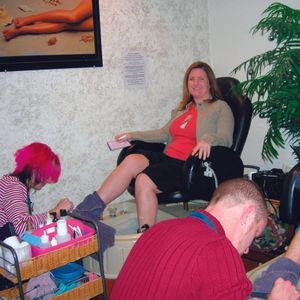 My mom and I always got pedicures together when I went back east for the holidays. It was one of...