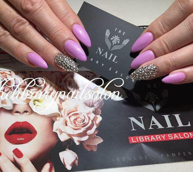 <p>At The Library Nail Salon in Perth, coffin nails are a trend.</p>