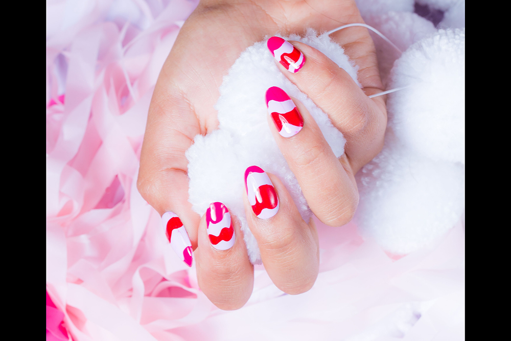 <p>Australian nail tech Chelsea Bagan of Trophy Wife has created nails for editorial photo shoots. Photography by Ryan Wheatley</p>