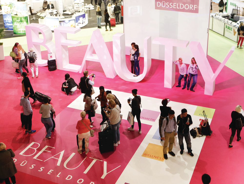 <p>Beauty Düsseldorf has more exhibitors than any beauty show in the United States. Photo courtesy Messe Düsseldorf / Constanze Tillmann</p>