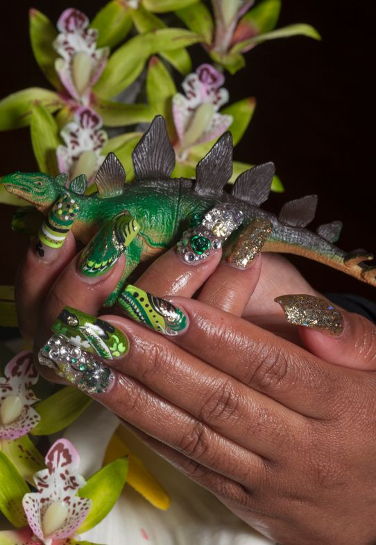 <p>Image from the series <em>Hard Candy</em></p> <p>Nail art by Glynuss Alexander.&nbsp;</p>
