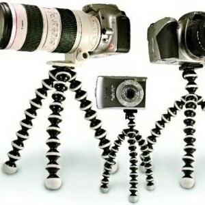 The Gorillapods come in three different sizes to support different size cameras, and the legs...