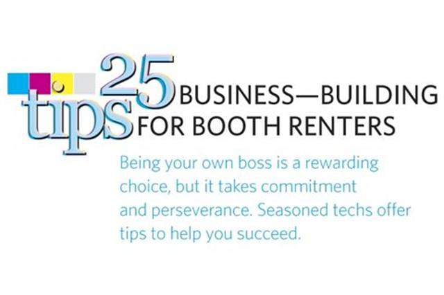 25 business-building tips for booth renters