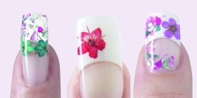 Nsi Dry Flower Design Style Nails Magazine