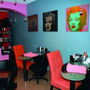 Owner Maureen LaFontaine built the salon, as well as the rest of the dealership, completely from...