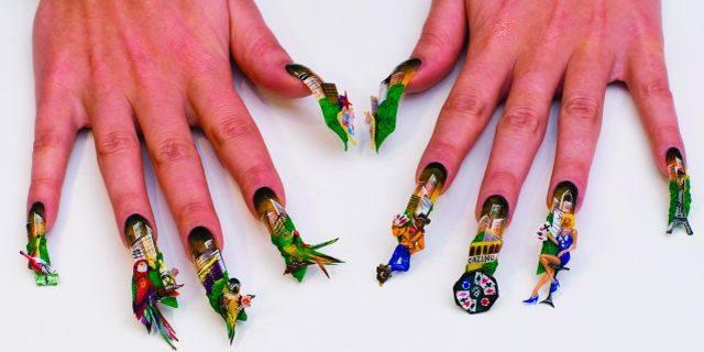 Vegas fantasy style nails magazine prinsesfo Choice Image