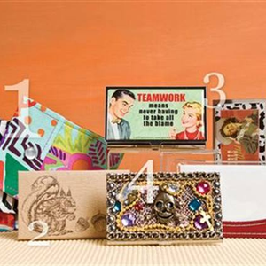 Retail Boutique: Card Holders