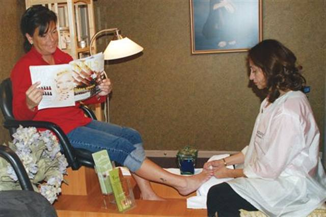 Pedicure Poise Health Nails Magazine