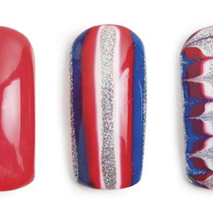 Red, White, and Bling