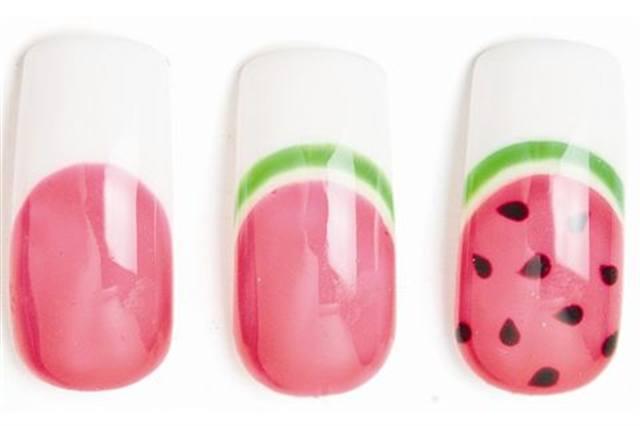 Fresh French Style Nails Magazine