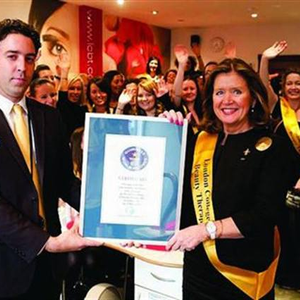 London Manicurists Land a Spot in the Guinness Book