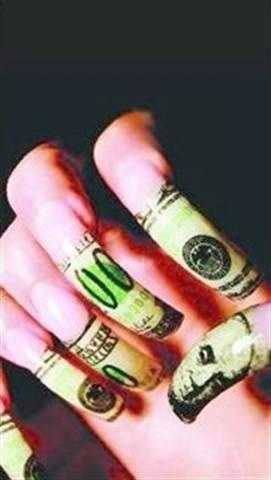Money Money Money Style Nails Magazine