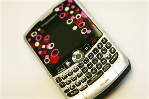 Cell Phone Decoration With Nail Art Pens Circles Style Nails