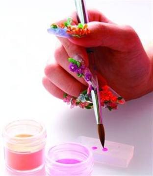 Cosmo S Nail Art Molds Allow Techs To Easily Ly Three Dimensional Acrylic The Have Pre Cut Designs For Fill Inwith