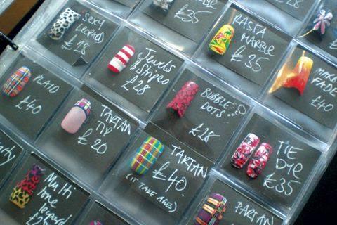 Home Nail Salon Decorating Ideas | Iron Blog
