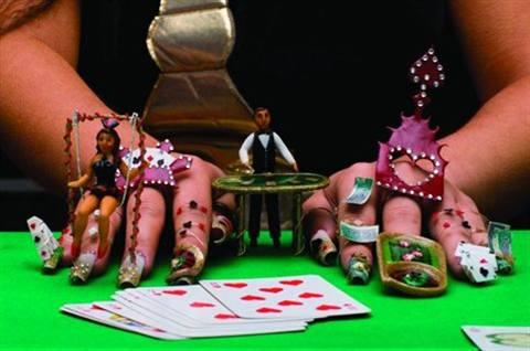 Vegas fantasy style nails magazine 2nd barbara dygas poland prinsesfo Choice Image