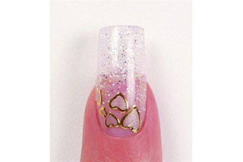 Cina Nail Creations Sweetheart Nail Art Nail Design Nails Magazine