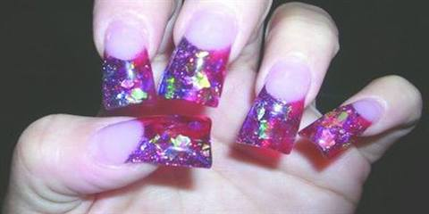 If They Arent Already Your Clients May Soon Be Asking For The Latest Trend In Nail Shape Flare So Called Because Free Edge Of Flares