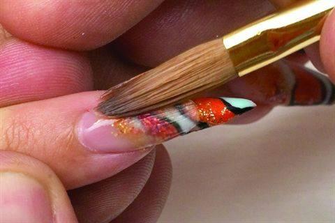 Видео по теме тигровый дизайн ногтей