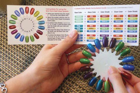 Wet Paint Nail Glaze System Style Nails Magazine