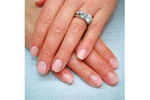 Akzentz Gel Manicure With Options Colour Technique Nails Magazine