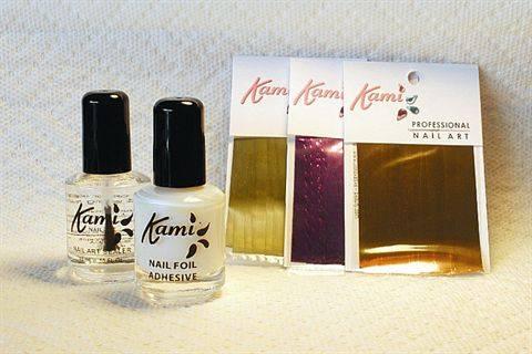 Kami Nail Art Foil Mixed Metals Style Nails Magazine