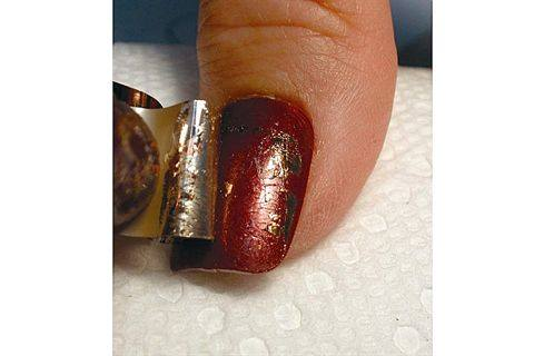 Kami Nail Art Foil Mixed Metals Style Nails Magazine