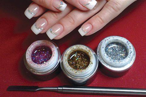 With The Options Soak Off Color Gels And Aurora Sparkle To Produce Vibrant Nail Art Designs Structurally Sound Enhancements Akzentz