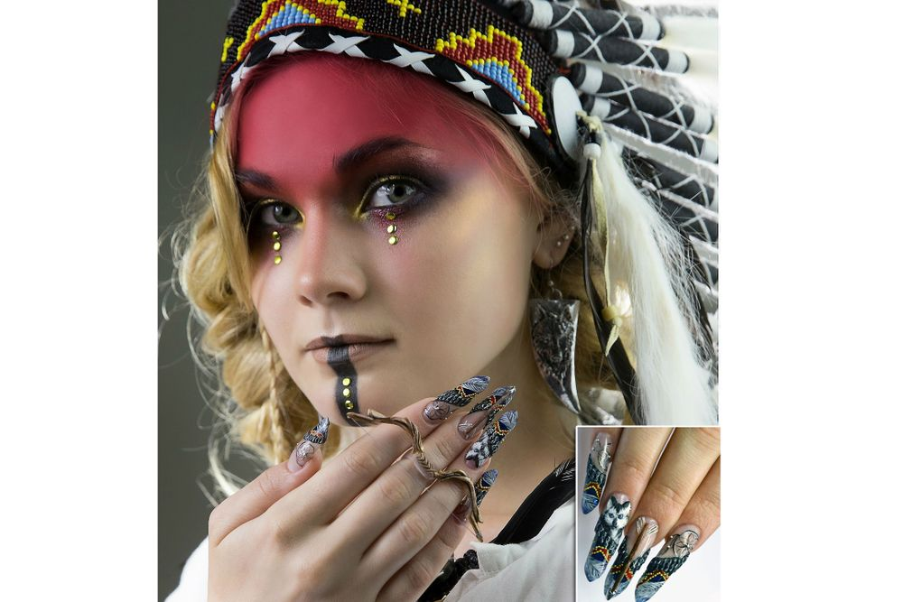 <p>OleHouse student Lozhnikova Ekaterina won first place in the &ldquo;Nails in the image of customer&rdquo;-themed photo contest at Nevskie Berega 2015.</p>