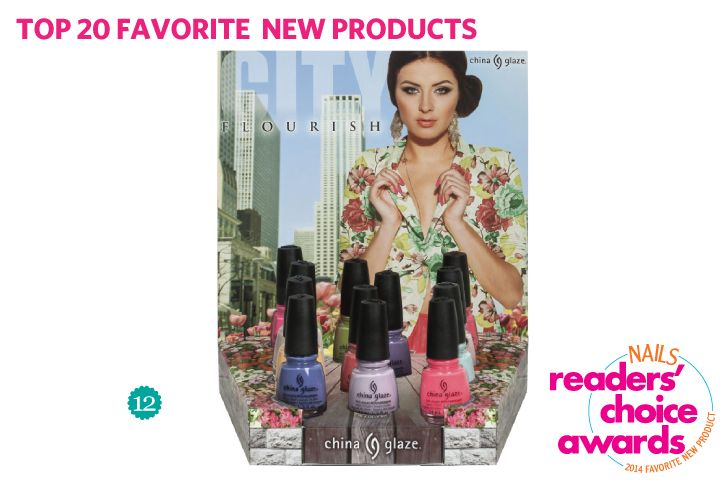 <p>12. China Glaze: City Flourish</p>