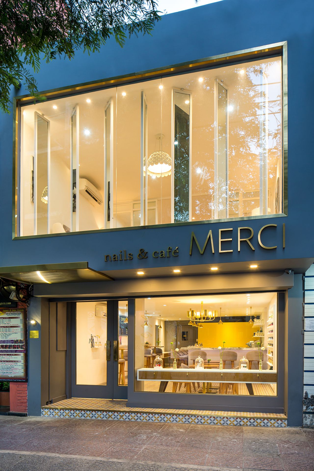 <p>Merci Nails &amp; Cafe in Ho Chi Minh City, Vietnam, resembles boutique salons in the United States.</p>