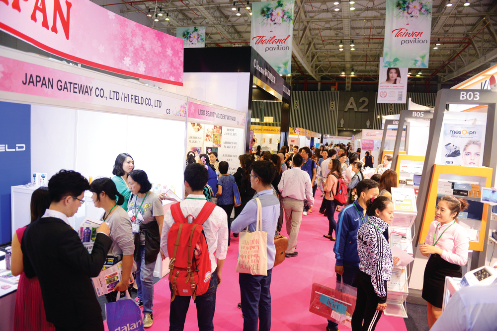 <p>The launch of the Vietbeauty 2016 tradeshow is a sign of growth of the Vietnamese professional beauty market.</p>