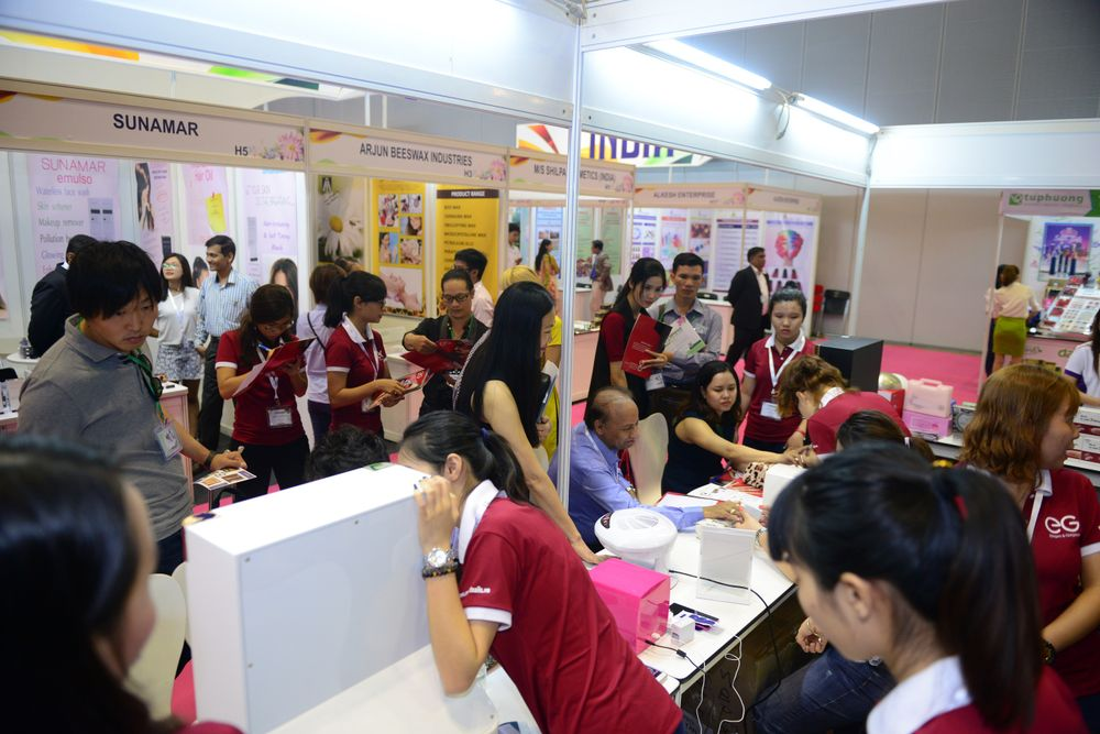 <p>The inaugural Vietbeauty attracted 150 exhibiting brands.</p>
