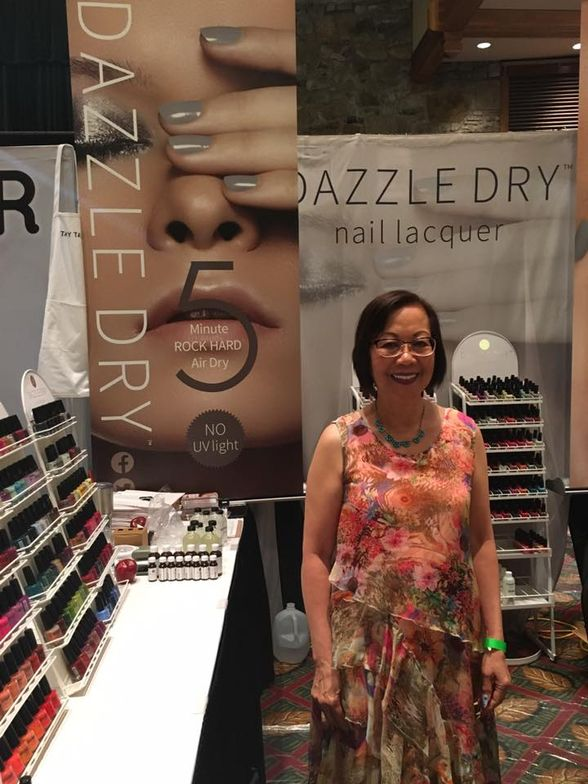 <p>Dazzle Dry founder Dr. Vivian Valenty is committed to making lacquer that dries in five minutes flat for the natural nail.</p>