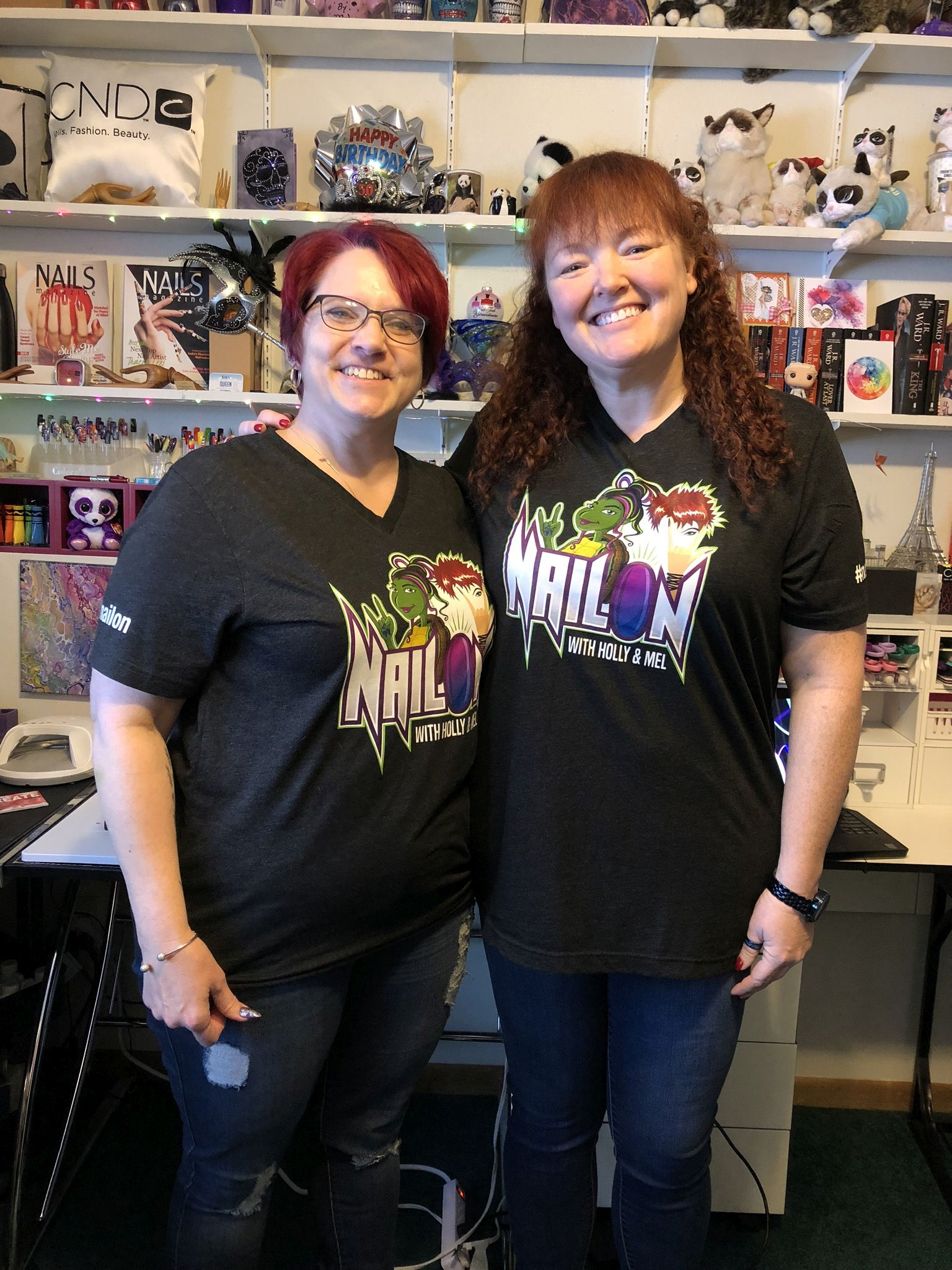 NailOn with Holly and Mel Is Celebrating Its One-Year Anniversary!