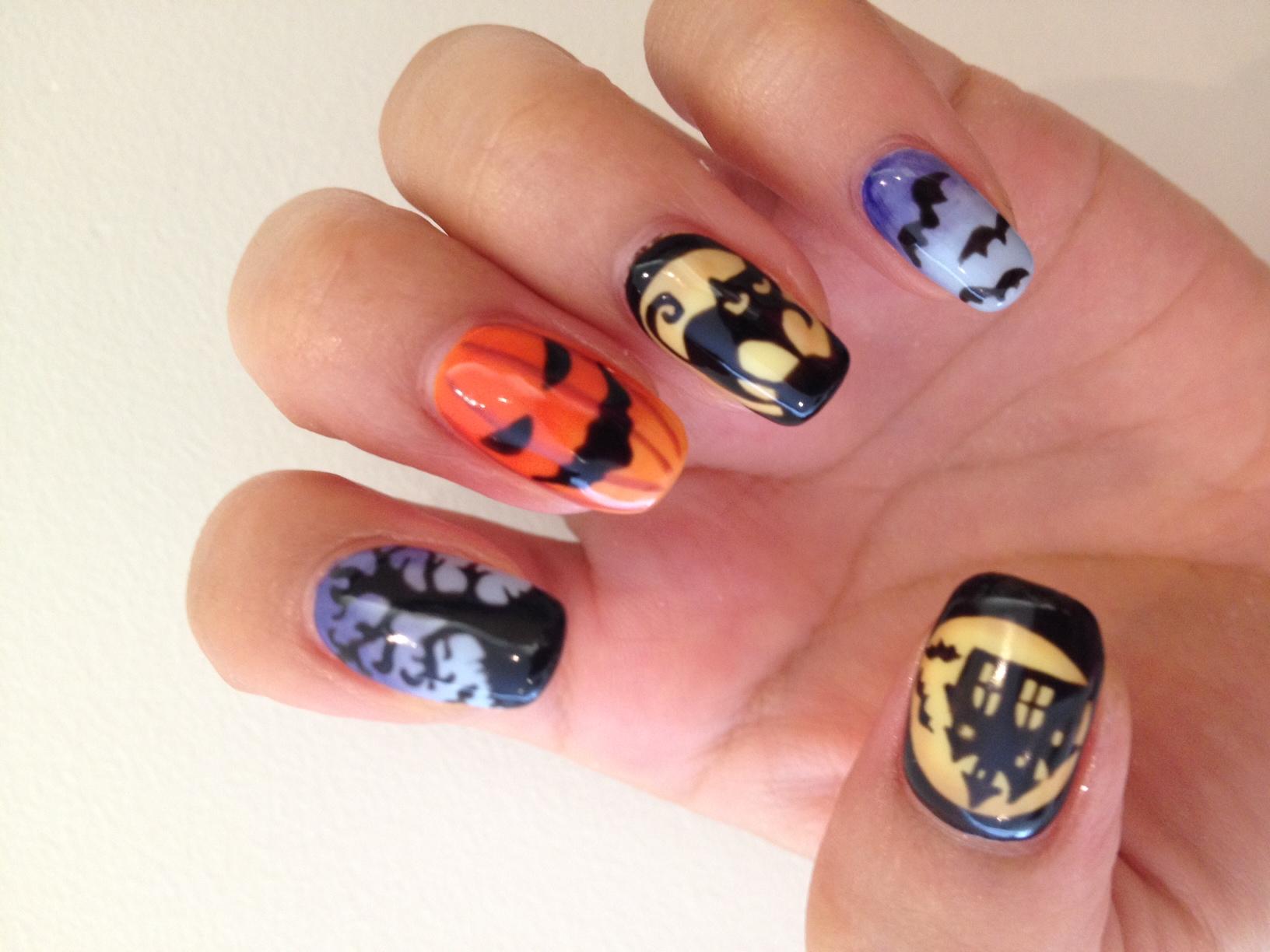 Haute Halloween Nail Art